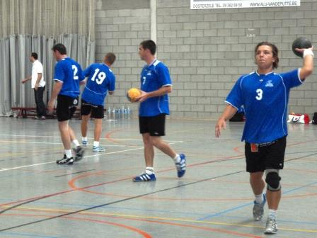 Internationaal handbal in Oosterzele